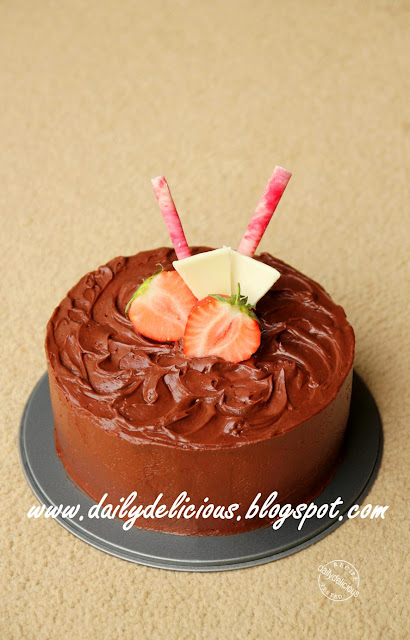 Chocolate Fudge Frosting For Ice Cream Cake