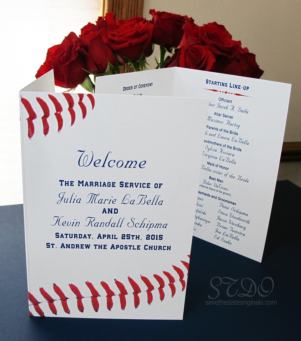 Awesome Baseball Themed Wedding Invitations Images - Styles & Ideas ...
