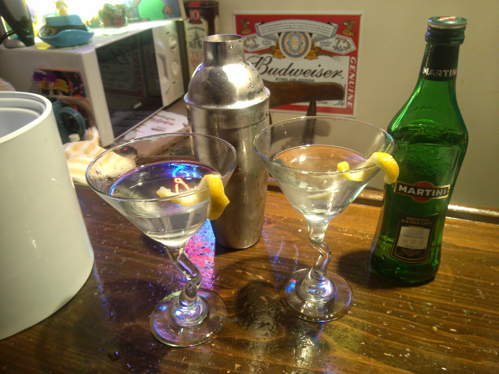 Barware Styles Cocktail Shaker Review - Martinis