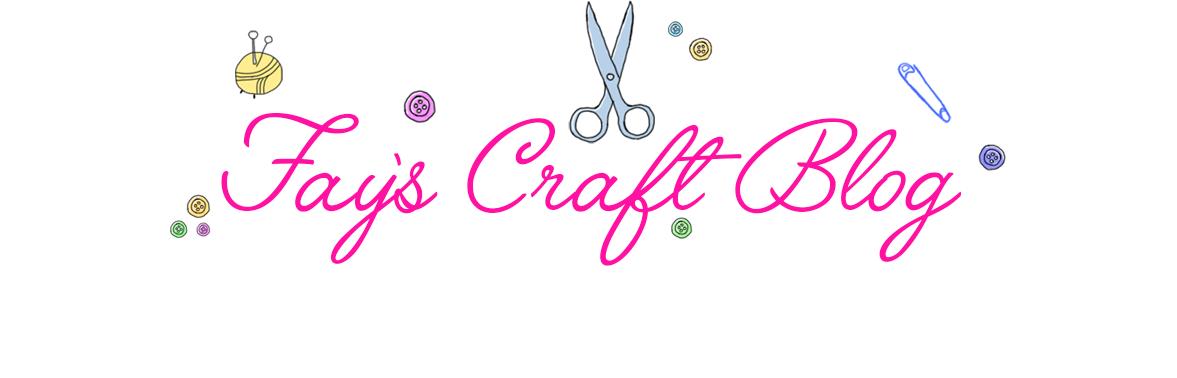 Fay's Craft Blog