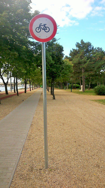 Budapest Margaret island bike cycling track Hungary