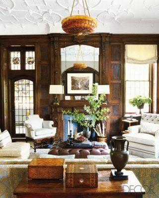 elledecor.com. The one design feature that defines English Tudor decor ...