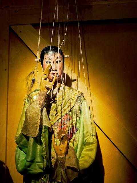 Marioneta de hilos, China. TOPIC de Tolosa