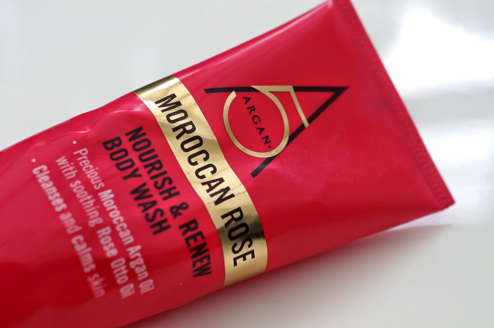 argan 5 morroccan rose body wash