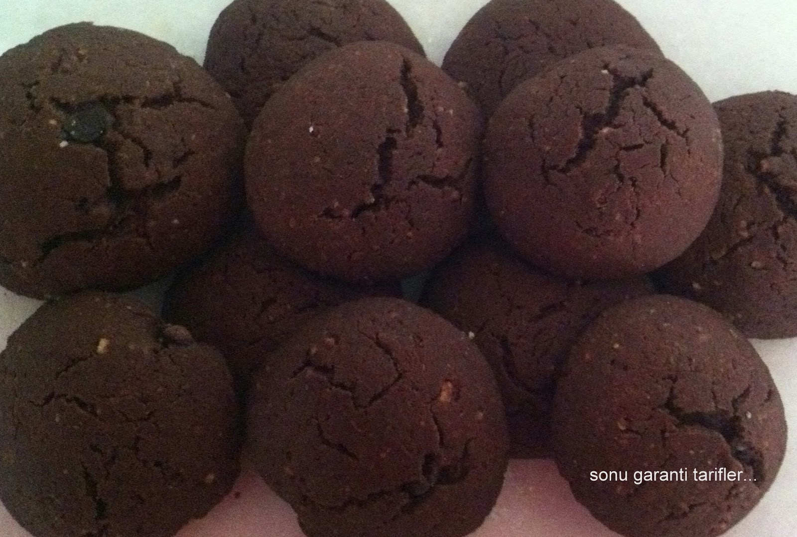 Kakaolu Fındıklı Un Kurabiyesi