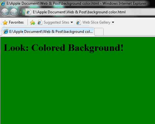 Knowledge is power knowledge is freedom how to change for Html code to change background color of page