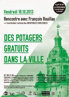 affiche rencontre françois rouillay