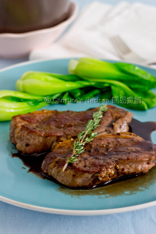  Balsamic Lamb Steaks01