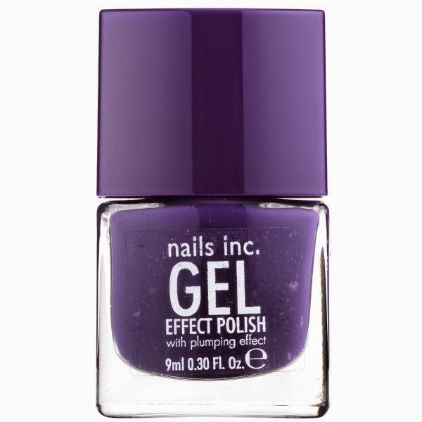 nails purple gel nail polish