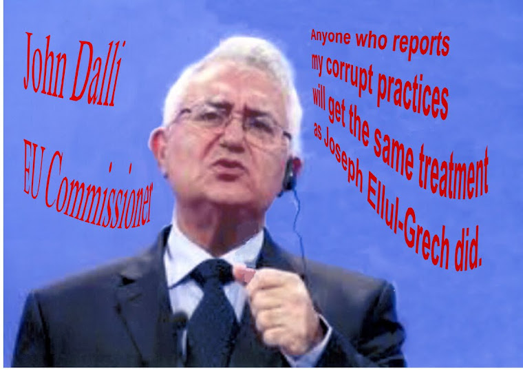 John Dalli Falsely Accused Joseph Ellul-Grech