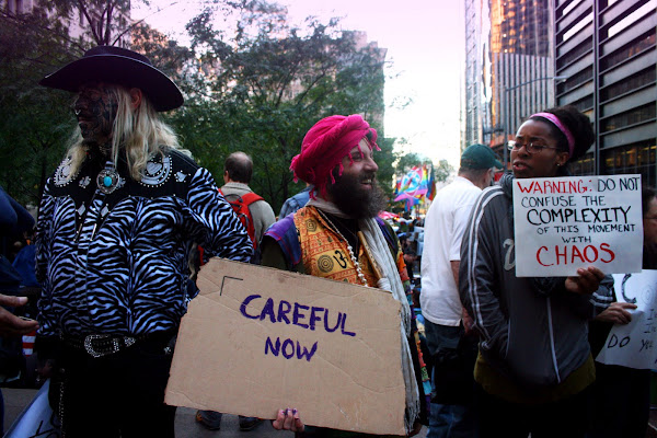 Occupy Wall Street protesters
