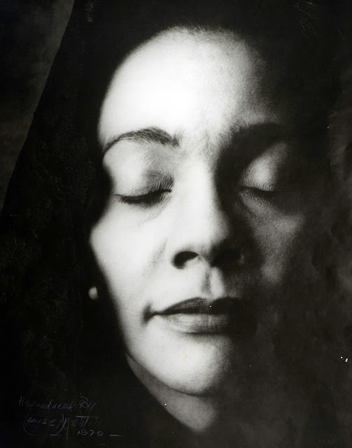 Louise Martin, Coretta Scott King, Houston, Texas, 1970. Courtesy Documentary Arts Collection/International Center of Photography.