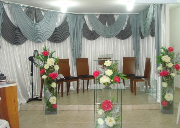 Lírios Eventos DECORA u00c7ÃO IGREJAS -> Decoração De Igreja Evangelica Para Congresso Infantil