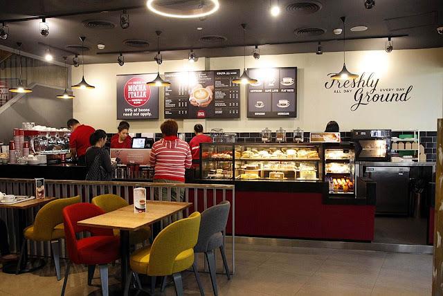 Costa Coffee Eastwood Manila Philippines