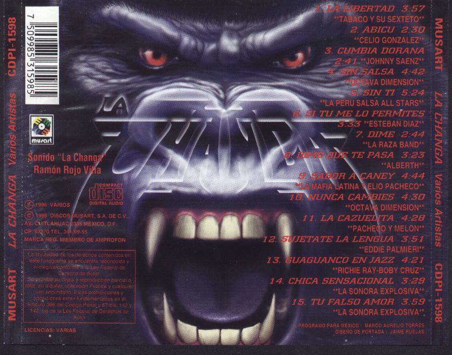 PLANETA MUSICAL: SONIDO LA CHANGA - PRODUCCION 1996