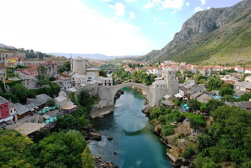 Mostar Köprüsü Bosna-Hersek