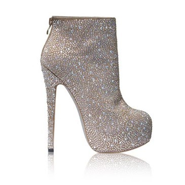 shoes diamonds heel kandee silver tronchetto glitter