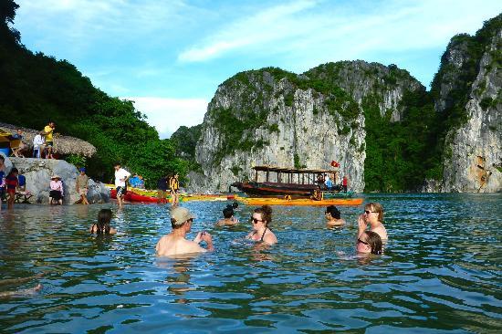 Swimming - Dragon Pearl Cruise