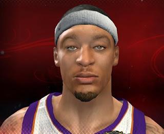 NBA 2K13 Michael Beasley Cyber Face Mod