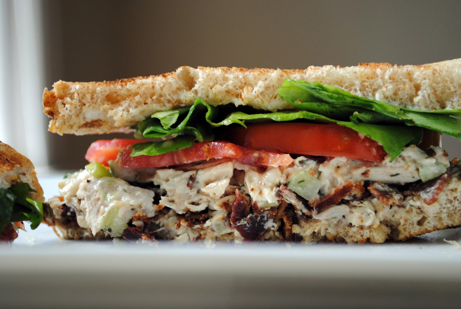 Roasted Chicken Salad BLT Sandwich