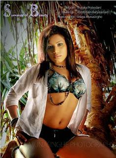 Tharaka Probodani sexy pose