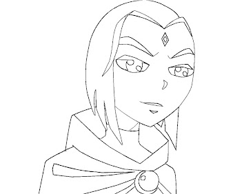 #6 Raven Coloring Page