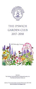A New Garden Club Year!