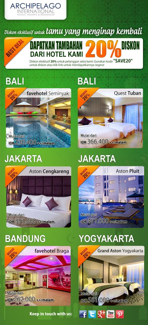 Promo Diskon Hotel Archipelago Ramadhan