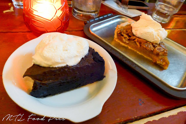 Mud Cake and Pecan Pie - Tex-Mex Restaurant Montreal