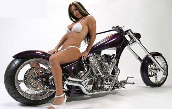 Fotos De Mulheres E Motos