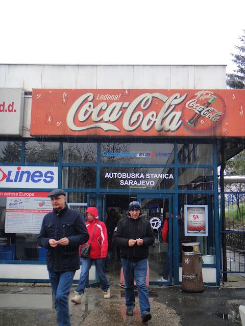 Sarajevo bus station