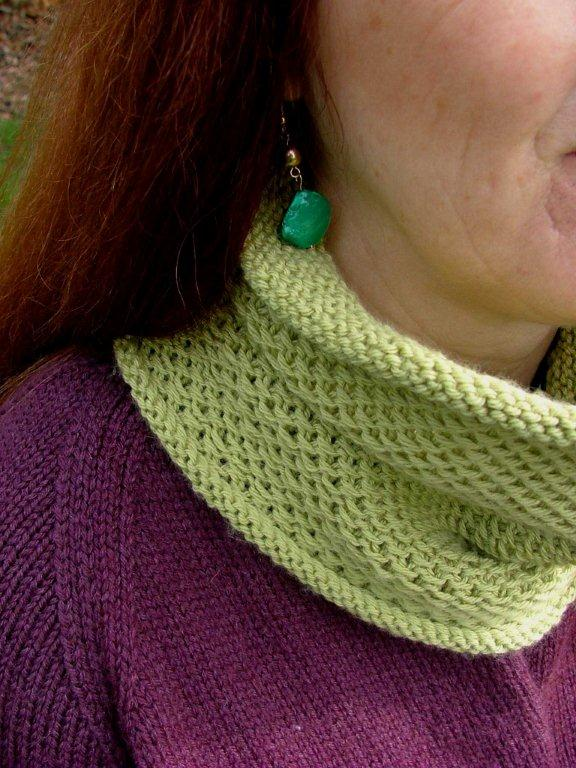 The Honey Cowl Sew Well Maide