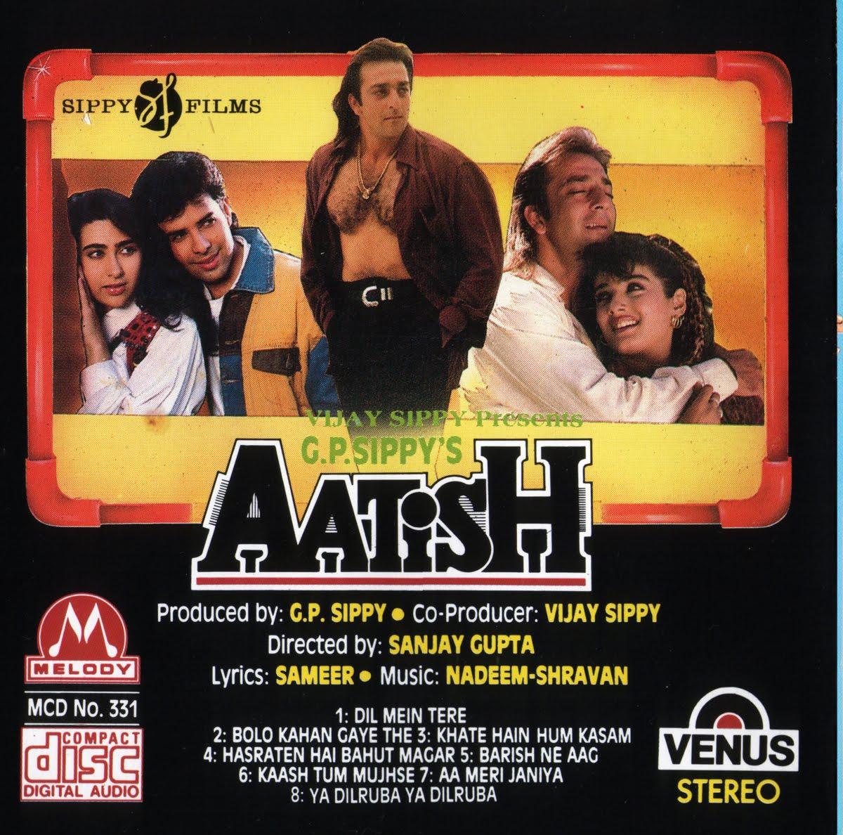 Bollywood Sheet Music September 2011: Renas.tk Mp3 (TKR): Aatish [1994-MP3-VBR-320Kbps]