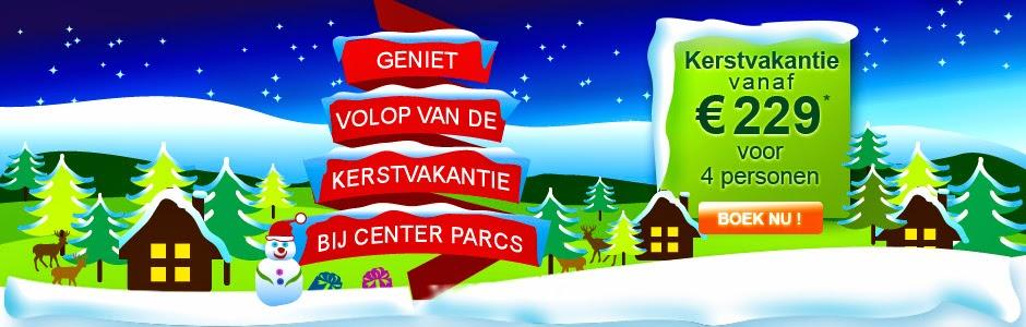 www.centerparcs.nl/om8637 30% korting kerstvakantie