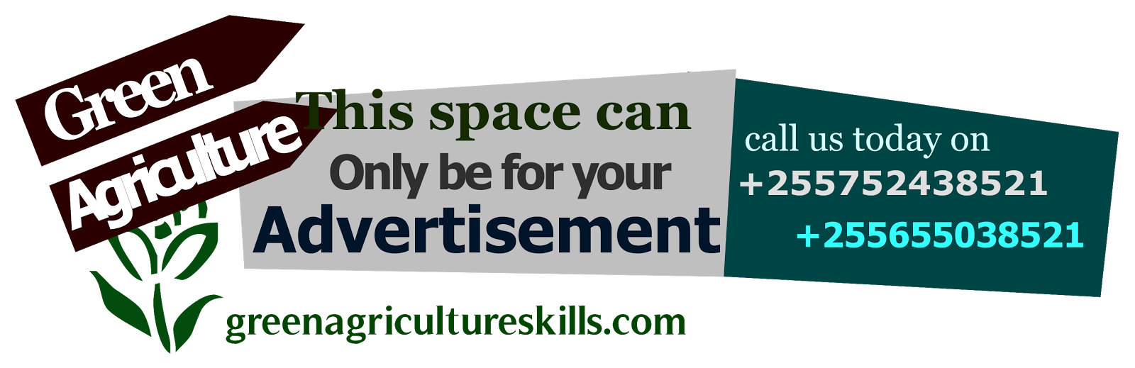 ADVERTISE WITH GREEN AGRICULTURE HERE