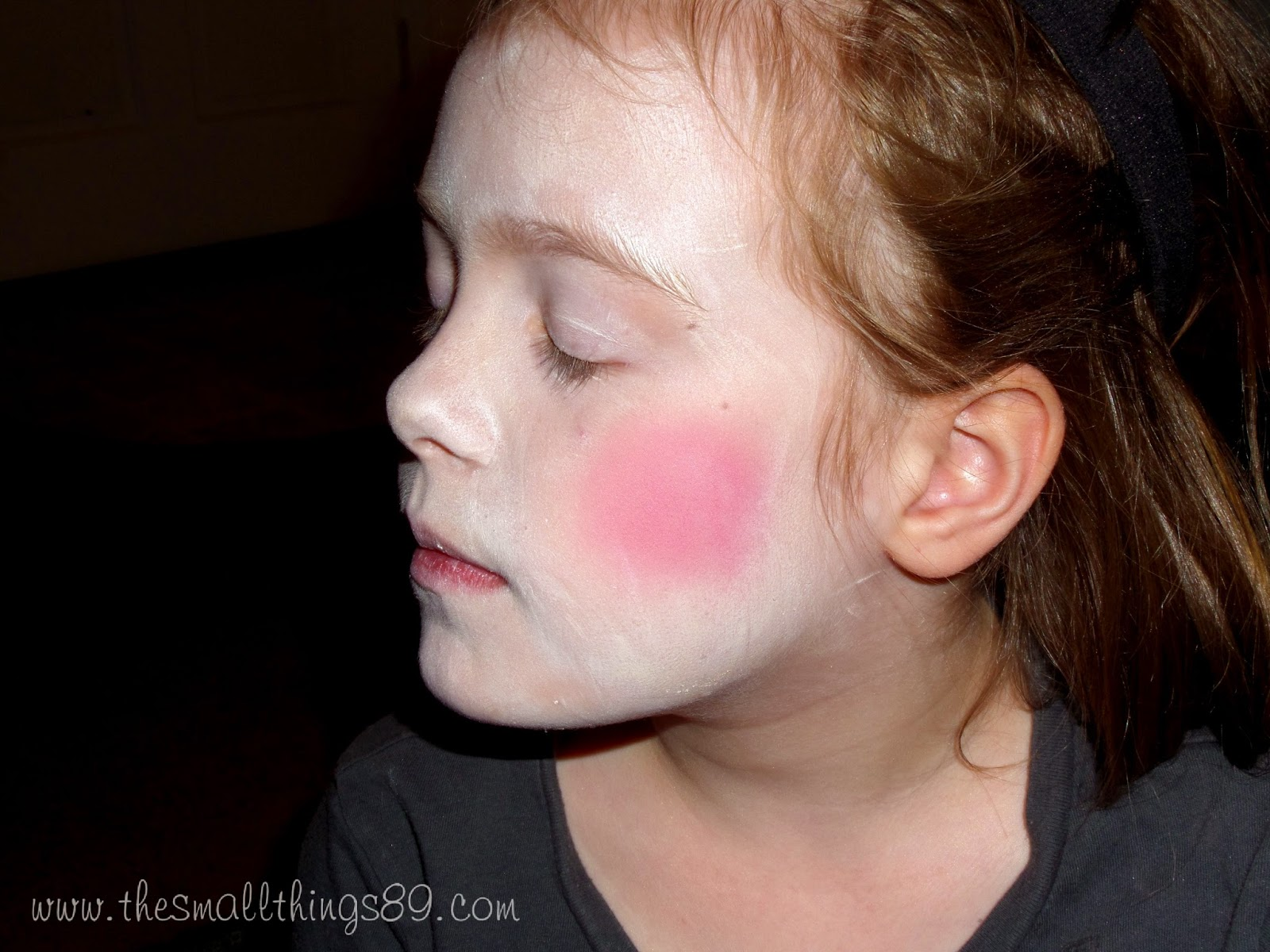 evil ventriloquist doll halloween makeup {#tutorial} {#diy} ~ the