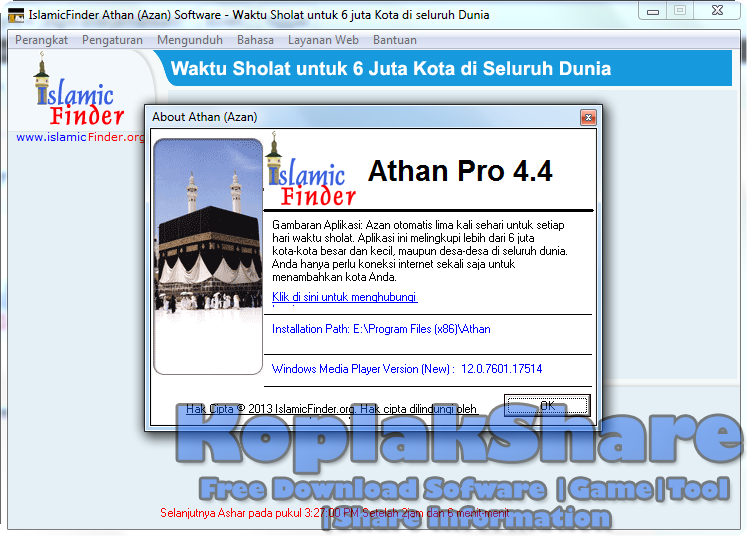 Athan Free Download for Windows 10, 7, 8/8.1 (64 bit/32 ...