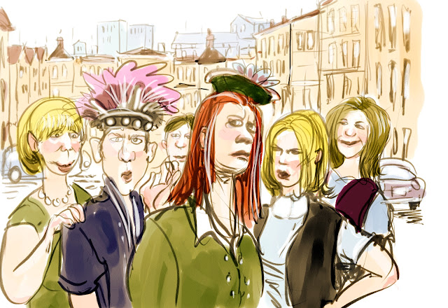 funny hats by Artmagenta