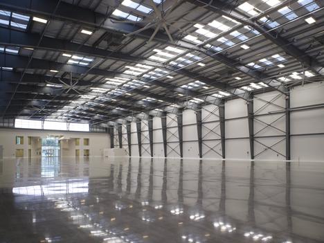 Pisos industriais, piso industrial