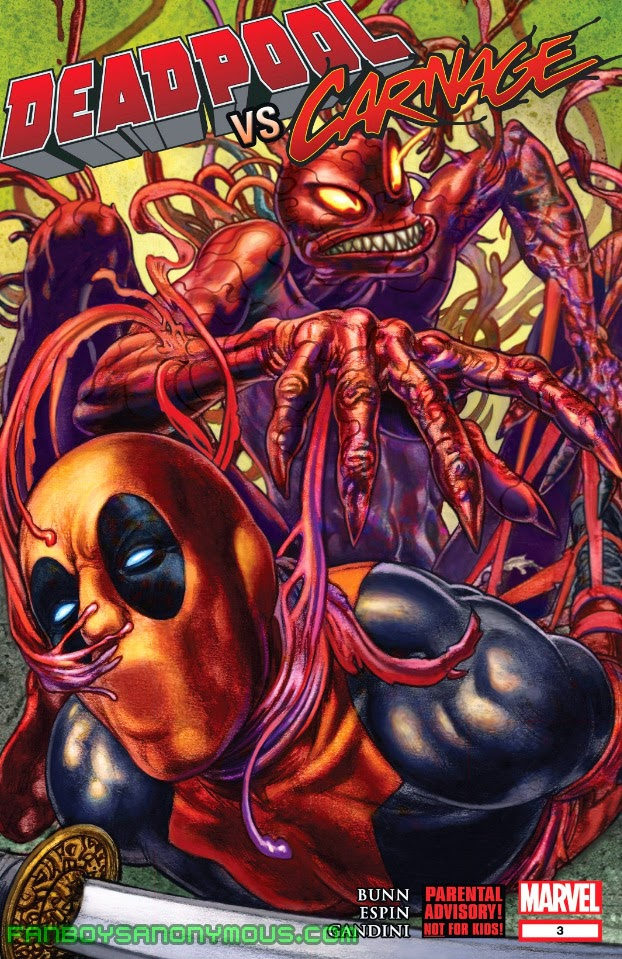 Read Deadpool Vs. Carnage on the Comixology mobile app