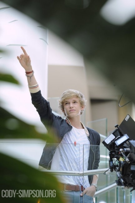 Cody Simpson wearing a bracelet by Jenny Dayco