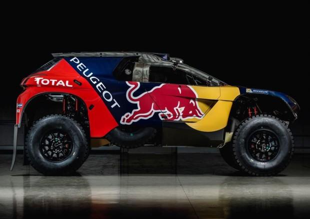 Primeiras imagens da versão final do Peugeot 2008 DKR