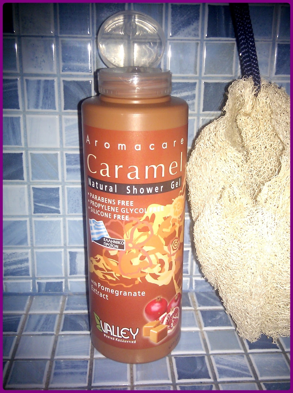 Valley Aromacare Caramel Natural Shower