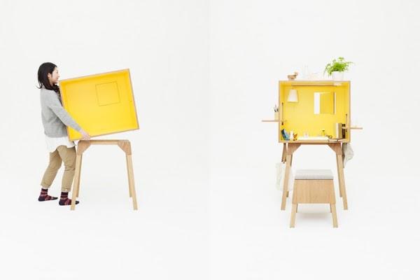 Baño Portatil Pequeno:Ideas para decorar, diseñar y mejorar tu casa: Oficina Portátil