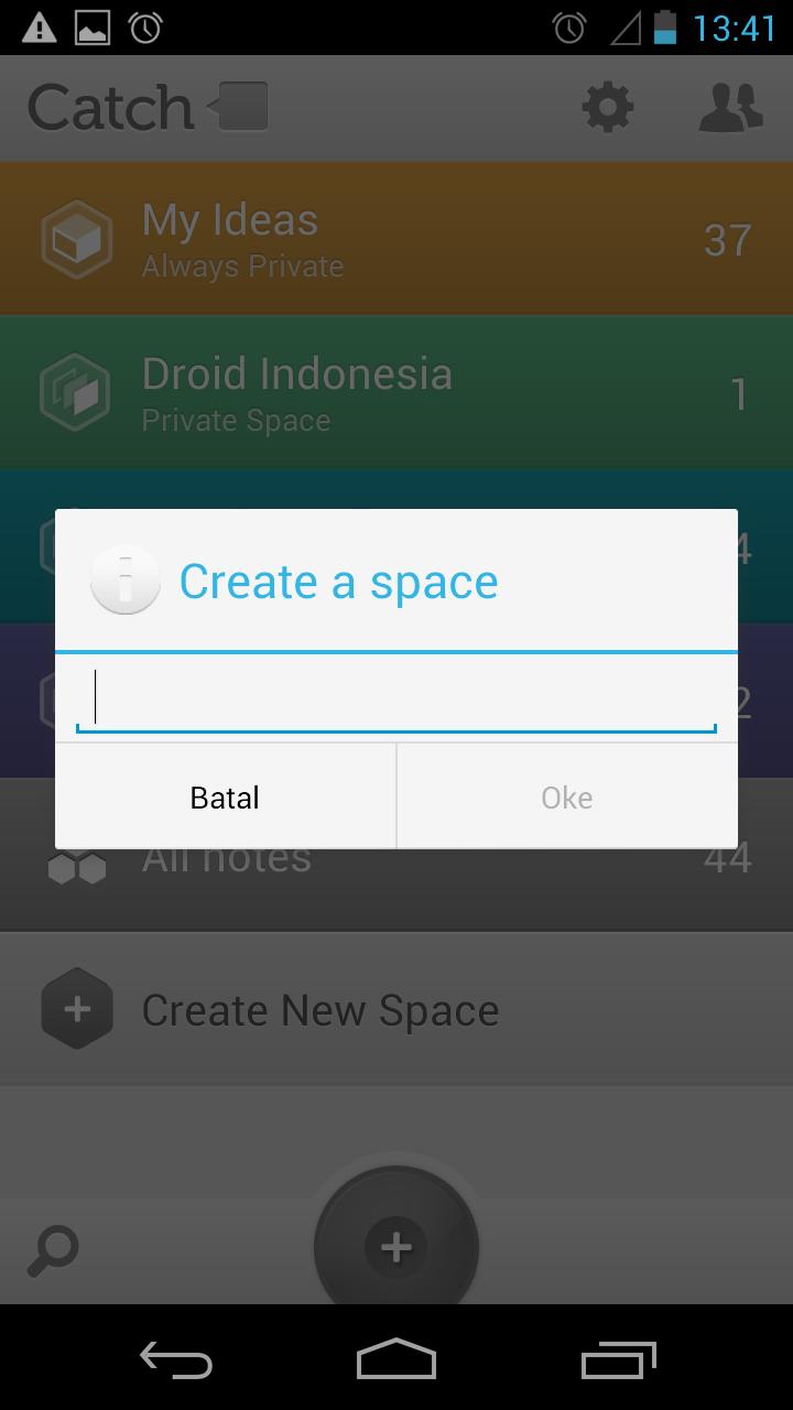 Catch (Aplikasi Catatan Terbaik) di Android | Droid