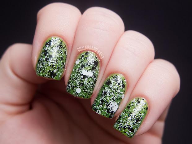 naild' unique nail polish swatches