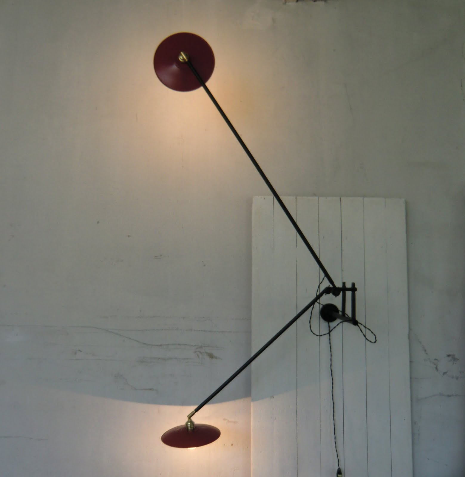 Wo and w collection double lampe murale articul e - Lampe articulee murale ...