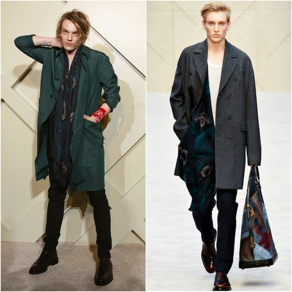 Jamie Campball Bower Burberry Brings London to Shanghai