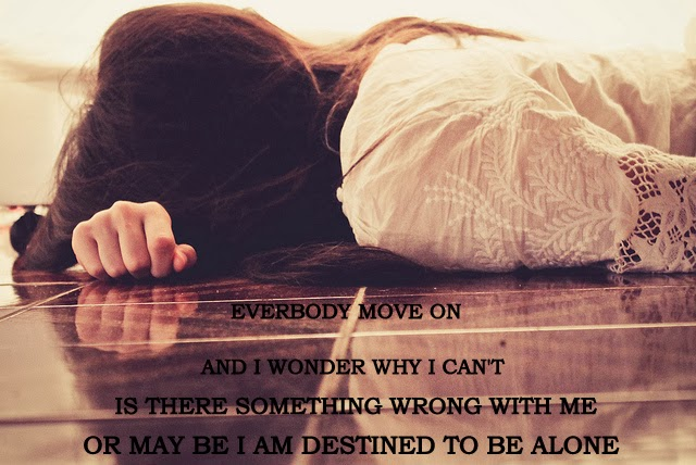 Alone Girl Sad Quotes