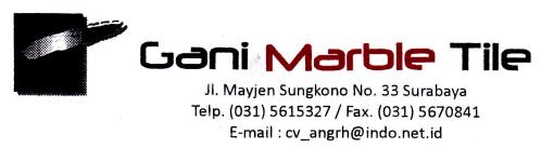 Lowongan Kerja Sales dan Administrasi di Gani Marble Tile – Surabaya